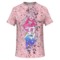Cherry Blossom Samurai Unisex Shirt - Party is Life