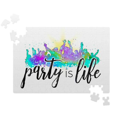 Party is Life Jigsaw Puzzle
