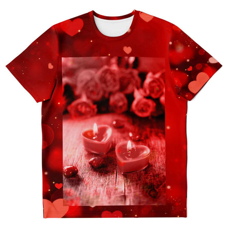 Heart Candles Unisex Shirt