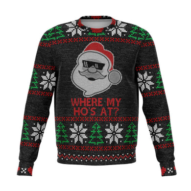 Where My Ho's At? Ugly Christmas Sweater
