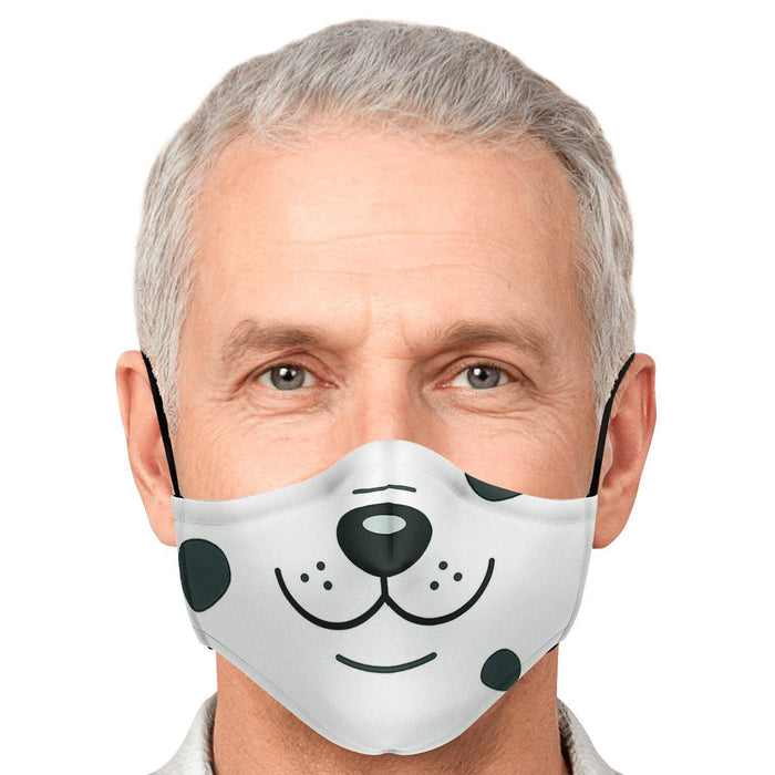 Spotted Doggie Face Mask