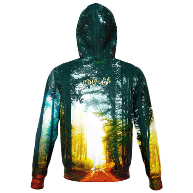 Forest Path Zip Hoodie