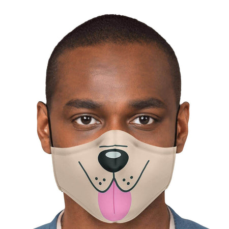 Dog Tongue Face Mask