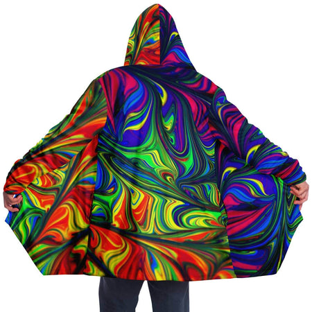 Abstract Colors Cloak