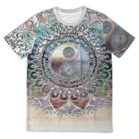 Metallic Yin Yang Shirt - Party is Life