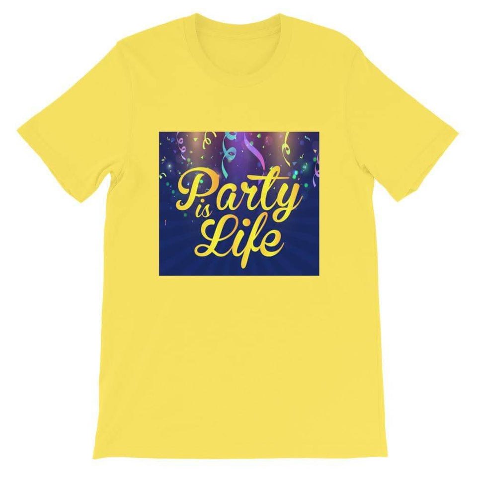 Party Ribbon Unisex T-Shirt - Party is Life