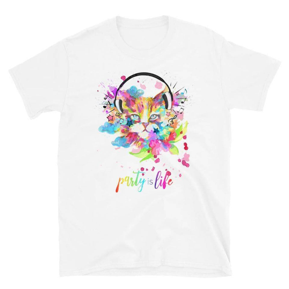 Musicat Unisex T-Shirt - Party is Life