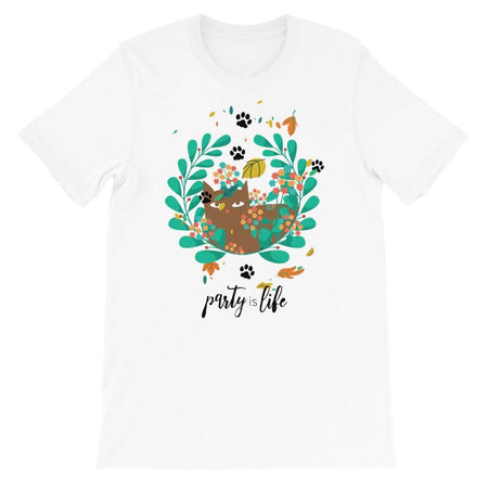 Chill Cat Unisex T-Shirt - Party is Life