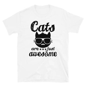 Awesome Cats Unisex T-Shirt - Party is Life