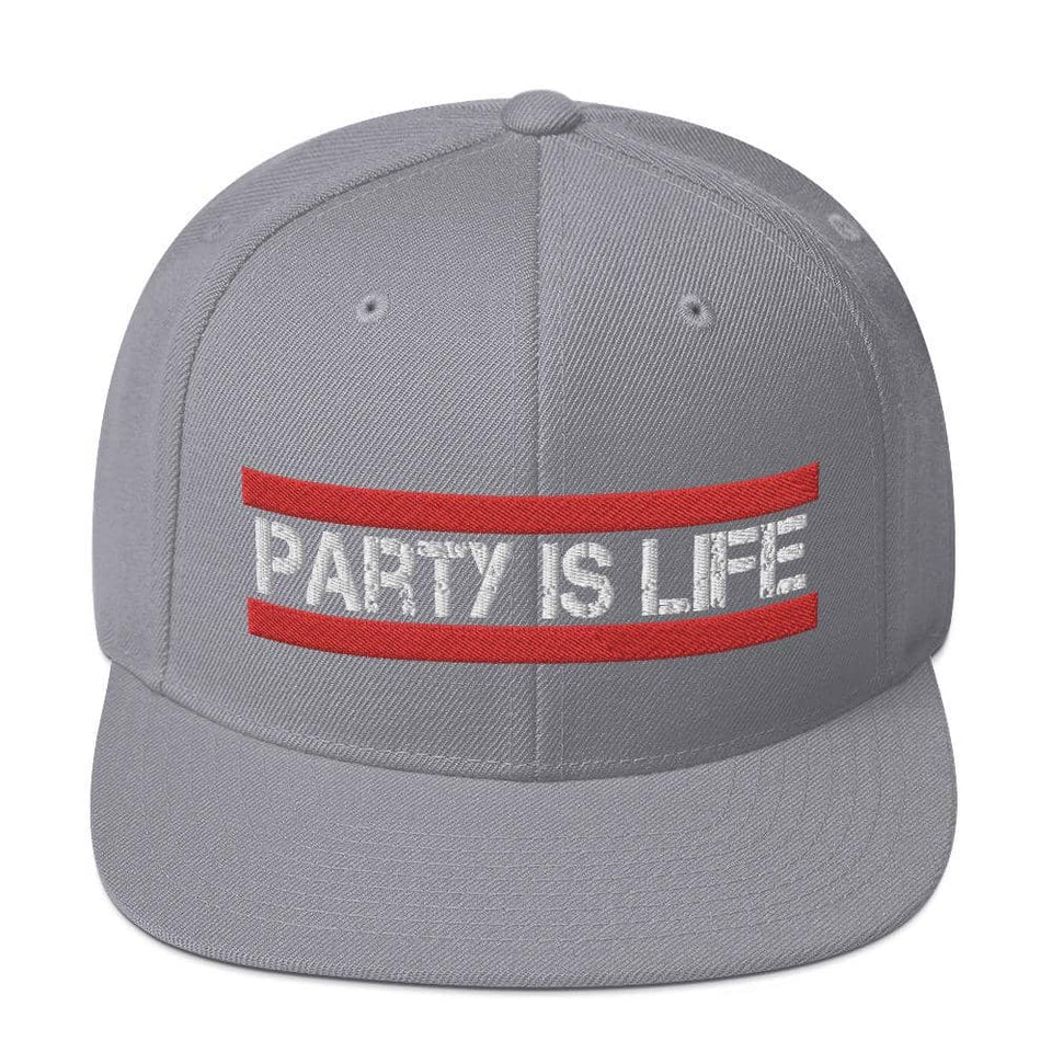 RUN Party is Life Snapback Hat - Party is Life