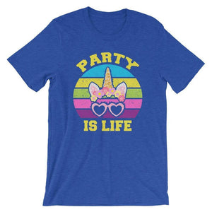 Unicorn Shades Unisex T-Shirt - Party is Life