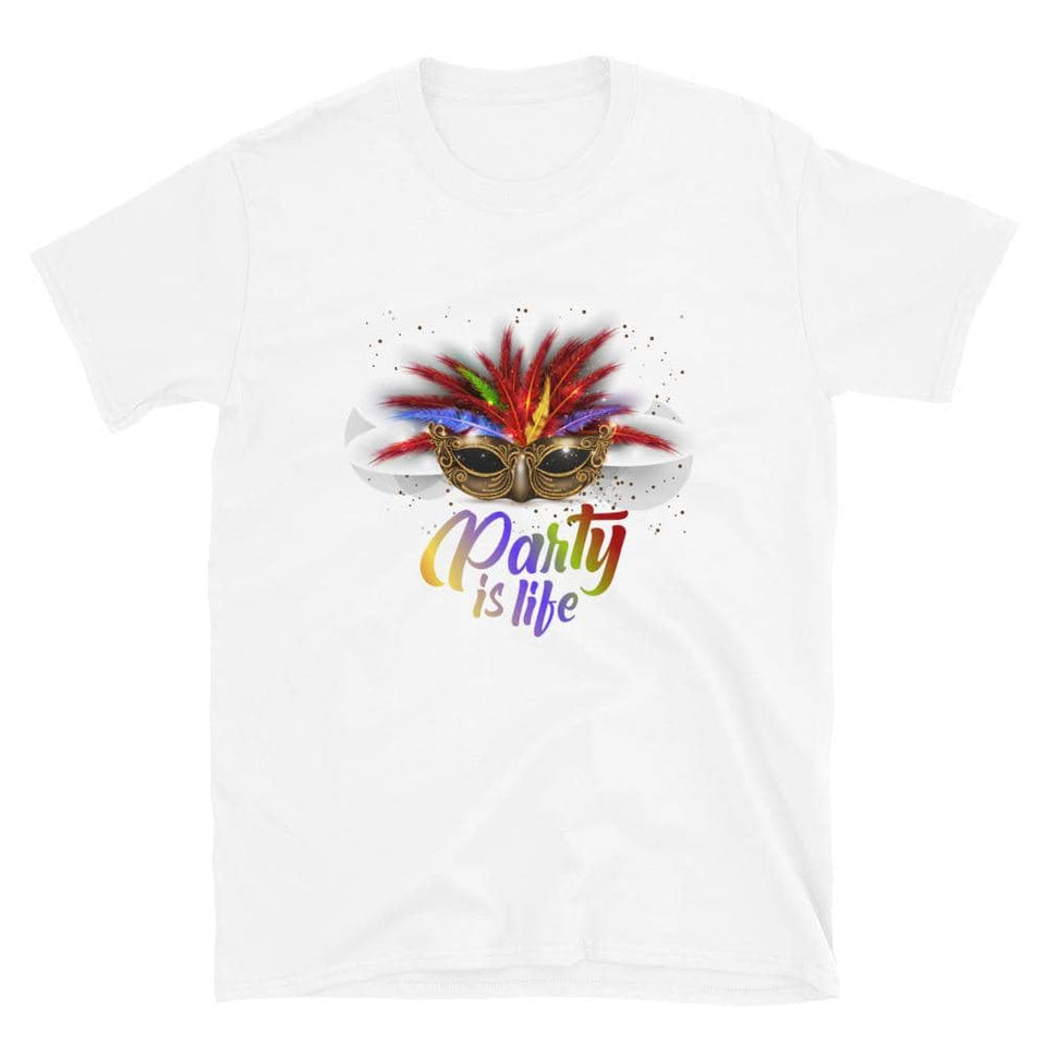 Masquerade Ball Unisex T-Shirt - Party is Life
