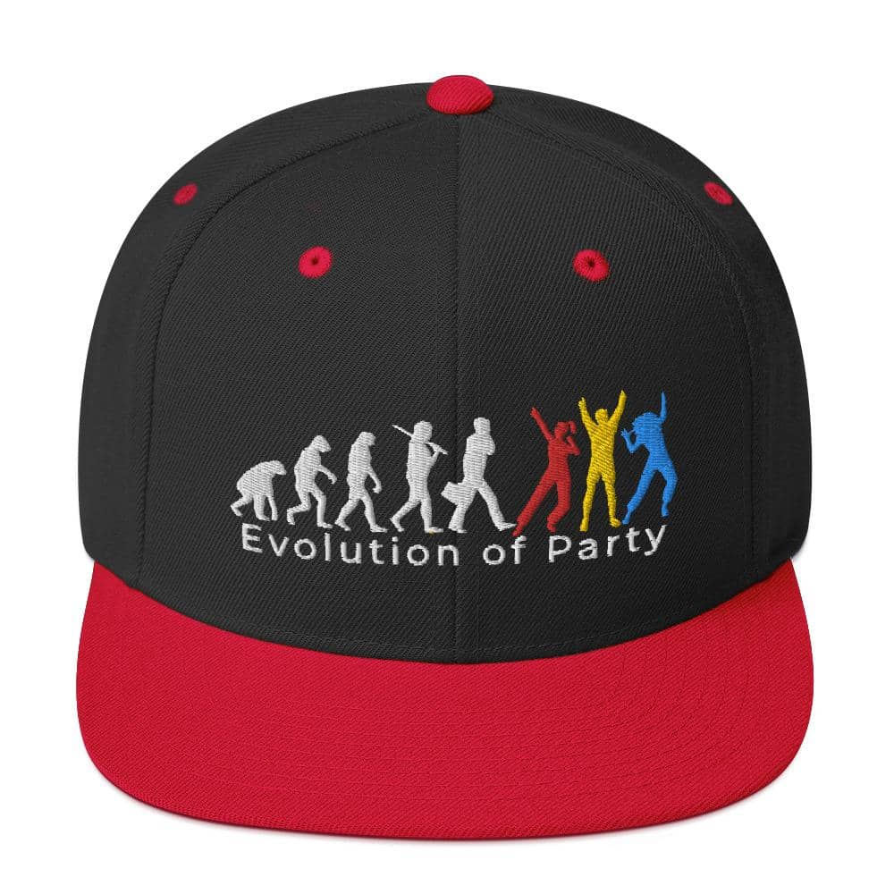 Evolution of Party Snapback Hat