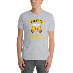 Beer Party is Life Unisex T-Shirt 2 - Party is Life