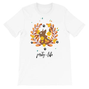 Chill Cat 2 Unisex T-Shirt - Party is Life