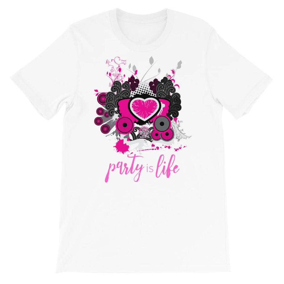 Party Love Short-Sleeve Unisex T-Shirt - Party is Life