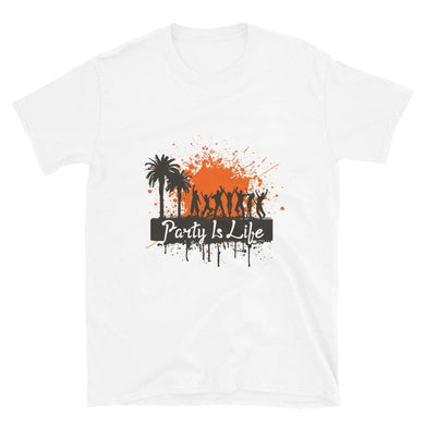 Party is Life Paint Splatter Shirt - Party is Life
