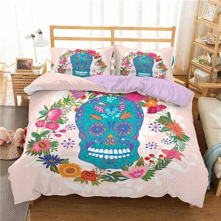 Ensemble de couette Sugar Skull 2 / 3pcs