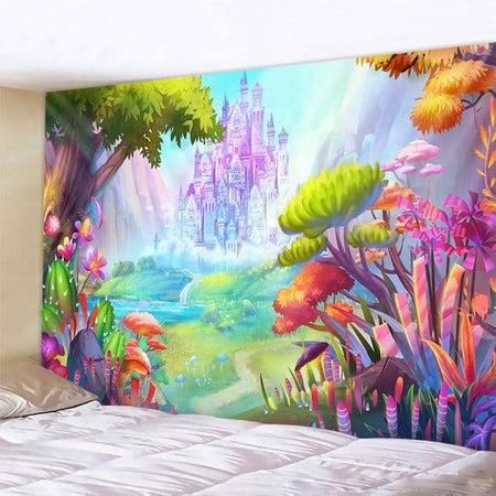 Enchanted Castle Tapestry