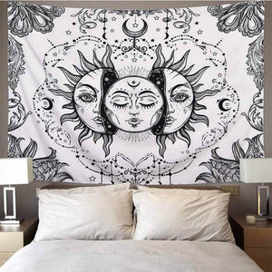 Internal Moon of the Sun Tapestry