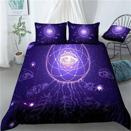 Glowing Eye Dream Catcher 2/3 Piece Duvet
