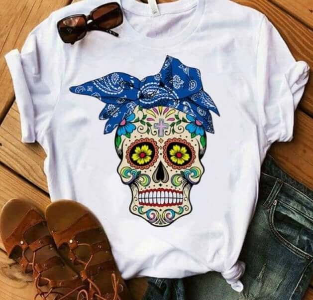 Women's Sugar Skull Shirt