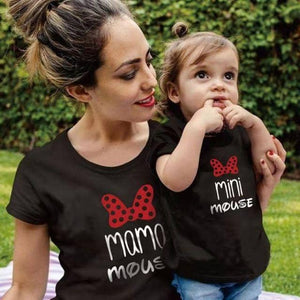Mama Mouse Matching Mother & Daughter Shirts