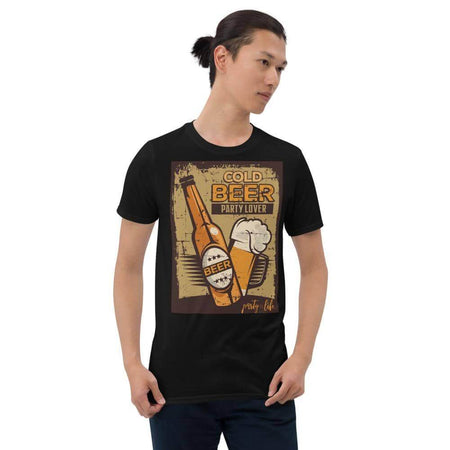 Cold Beer Party Lover Unisex T-Shirt