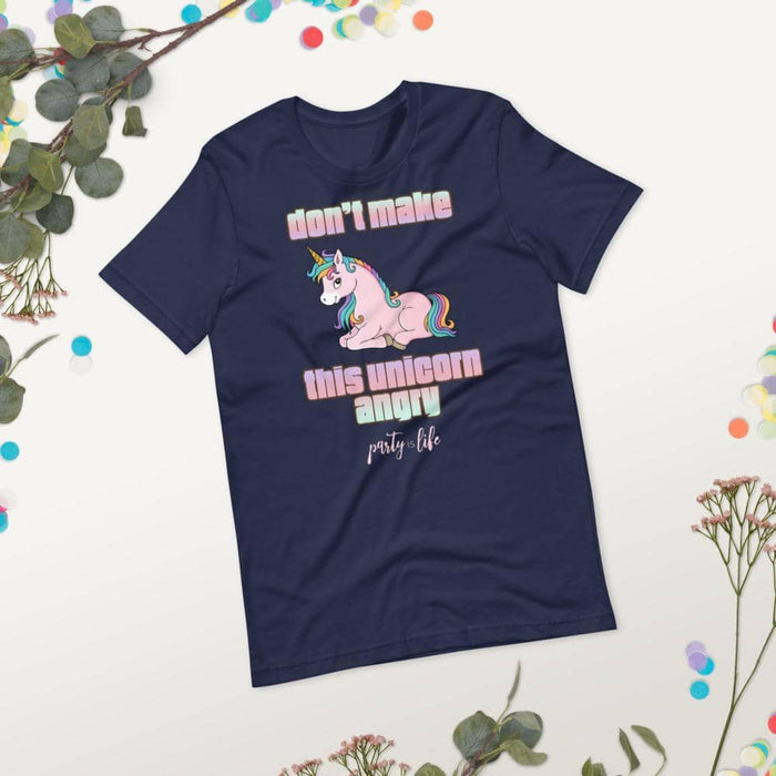 Don't Make This Unicorn Angry Unisex T-Shirt