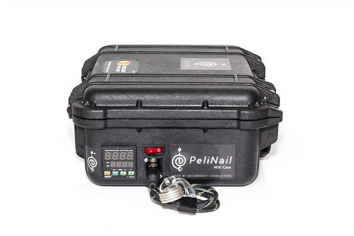 Disorderly Conduction - Pelinail 1400 E-Nail Case - Black