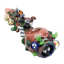 Load image into Gallery viewer, Empire Glassworks - Hootie's Forest Pipe