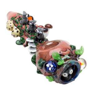 Empire Glassworks - Hootie's Forest Pipe