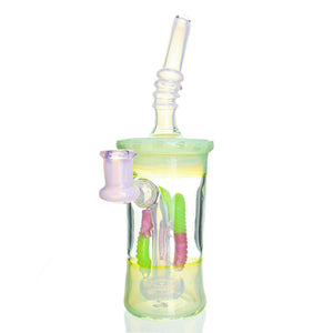 Emperial Glass - Candy Cup - Green & Pink