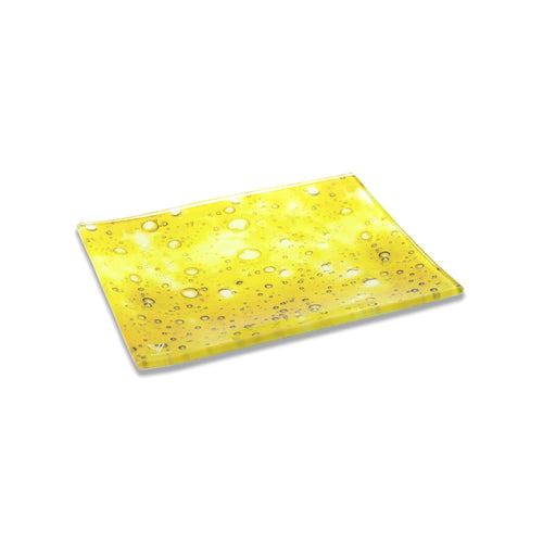 V Syndicate - Small Glass Rolling Tray - Dab Slab