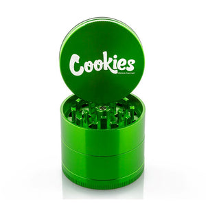 Santa Cruz Shredder x Cookies - 4 Piece Medium Grinder - Green