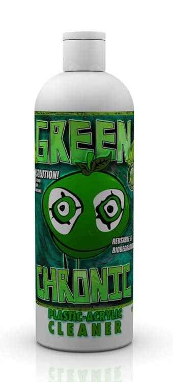 Green Chronic Plastic / Acrylic Cleaner - 12oz