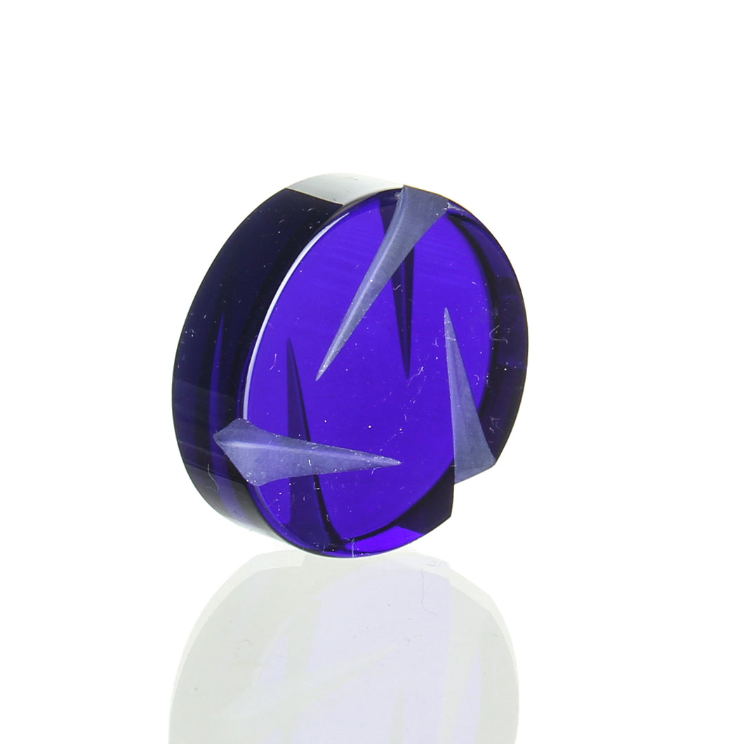 Str8 Glass - Spinner Coin Cap - Blue