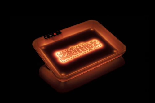 Glow Tray x Zkittlez Rolling Tray - Orange