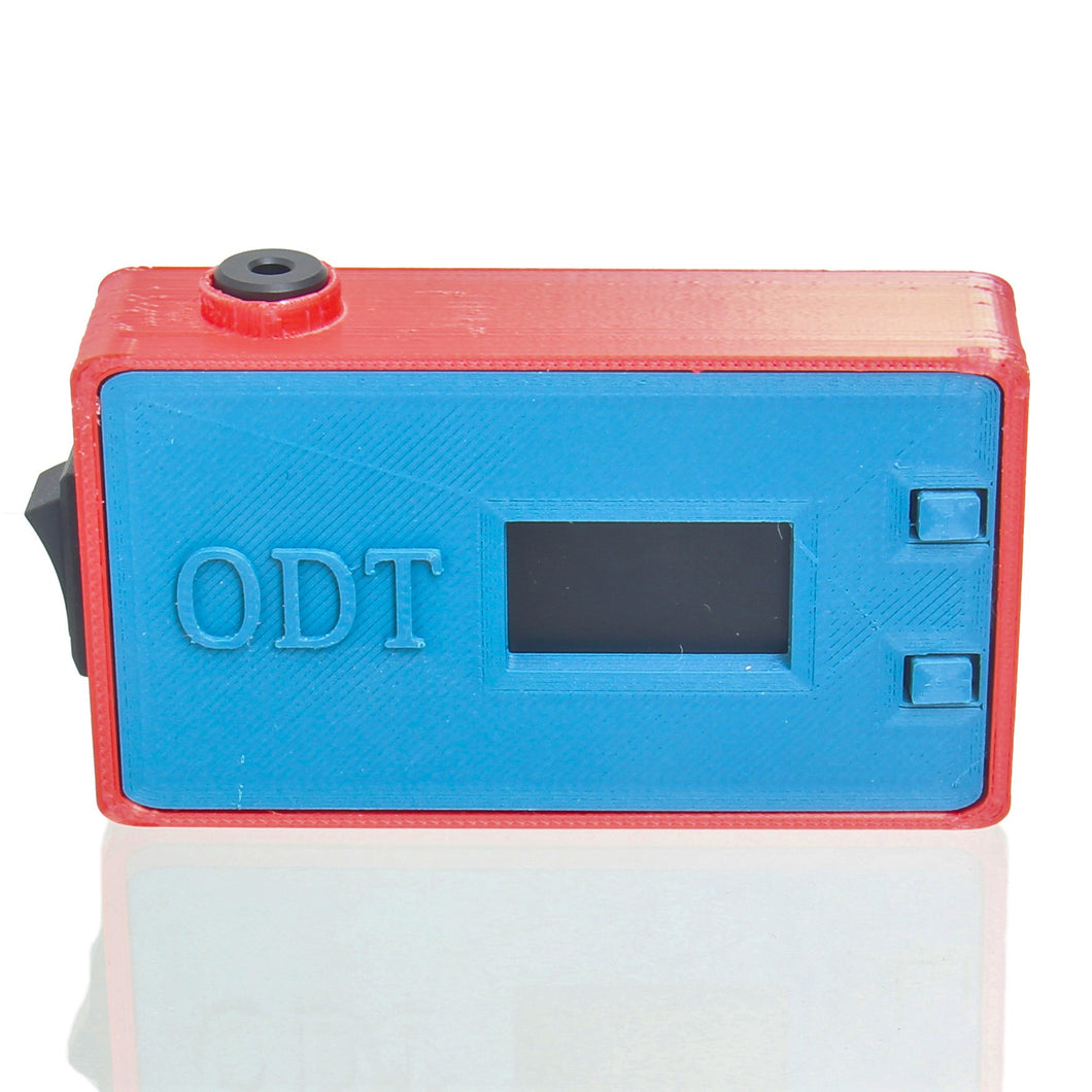 ODT - Pocket Temper - Teal & Red
