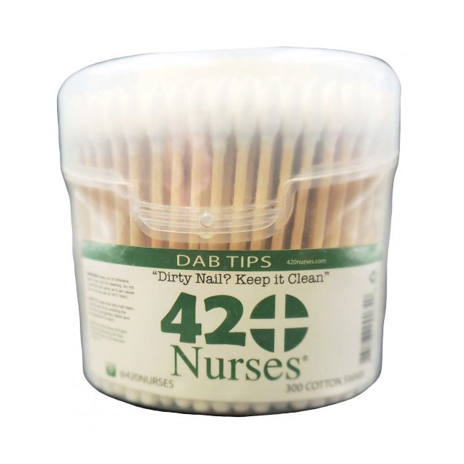 420 Nurses 300 wooden handle Cotton Swabs