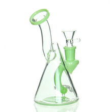 Load image into Gallery viewer, AFM - Micro Cone Bubbler - Milky Green
