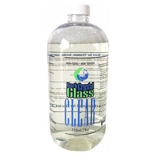 Dark Crystal Glass Cleaner - 710ml bong and quartz cleaner