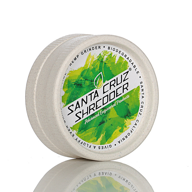 Santa Cruz Shredder Hemp Grinder - Green