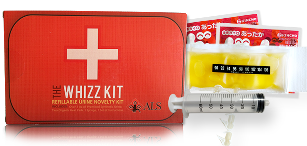 The Whizz Kit synthetic urine kit