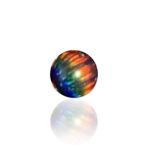 Ruby Pearl Co - 5mm Opal Terp Pearl - Black Rainbow