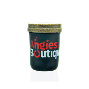 Re:Stash Jar - 8oz Angies Boutique - Black
