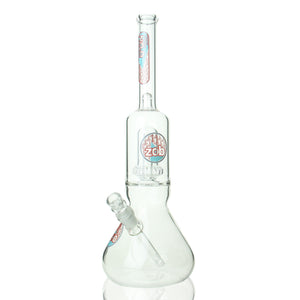 "ZOB - 17"" UFO Beaker - Red & Light Blue"