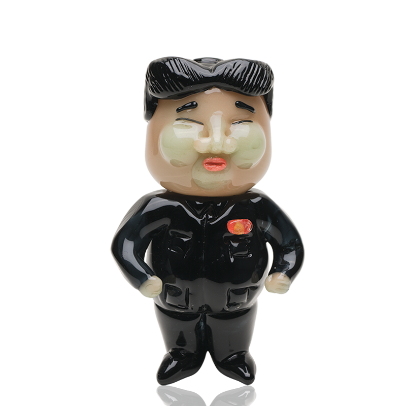 Empire Glassworks - Kim Jong-Un Rocket Man Pipe