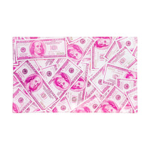 Load image into Gallery viewer, V Syndicate - Medium Glass Rolling Tray - Pink Benjamins