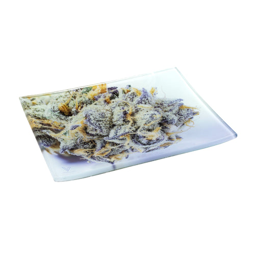 V Syndicate - Medium Glass Rolling Tray - Girl Scout Cookies - Small